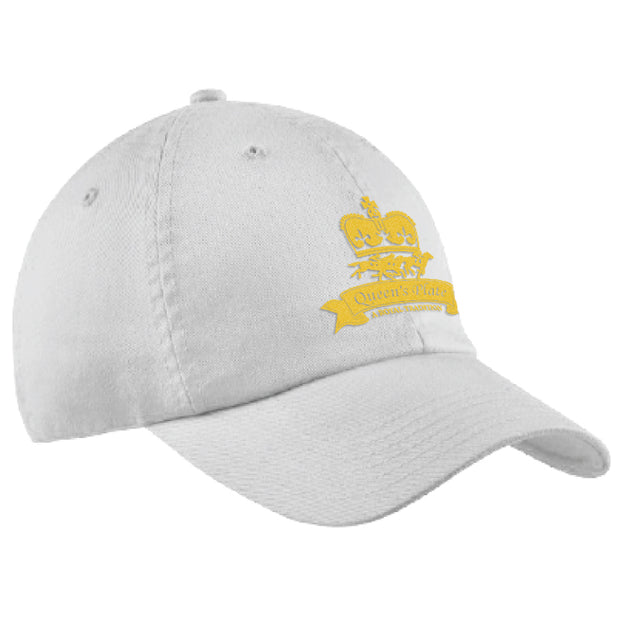 Queen's Plate Ball Cap, White