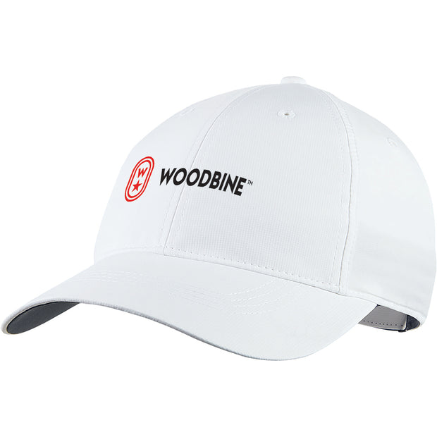 Woodbine Baseball Cap, White