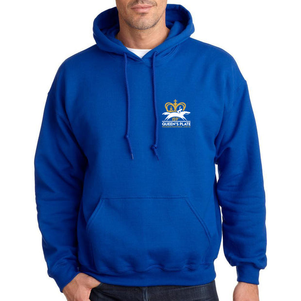 Queen's Plate 2018 Hoodie, Royal Blue - Unisex