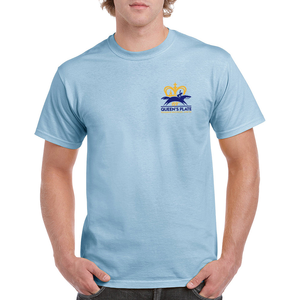 Queen's Plate 2018 T-shirt, Light Blue - Men's