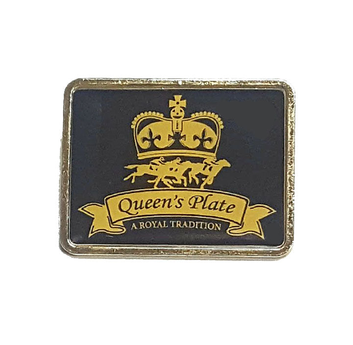 Queen's Plate Lapel Pin