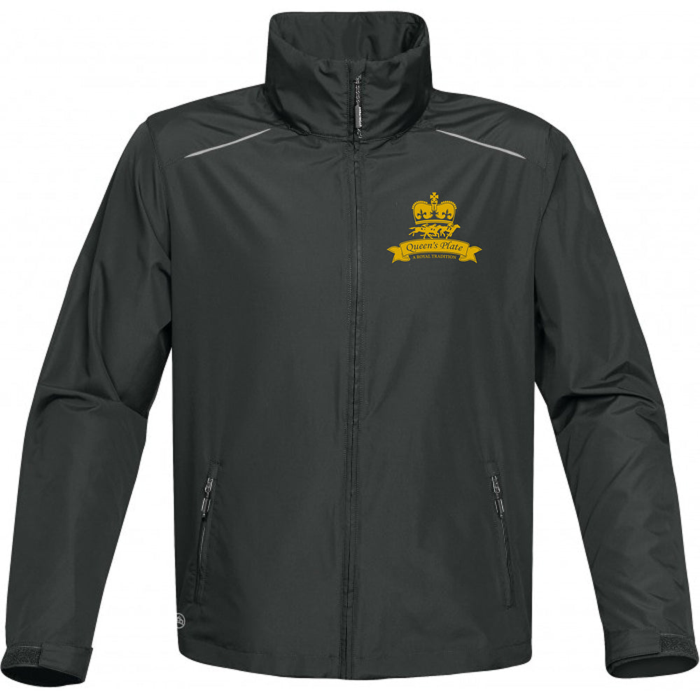 Queen's Plate Windbreaker Jacket, Grey - Men's