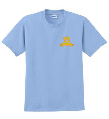 Queen's Plate T-Shirt, Light Blue - Youth