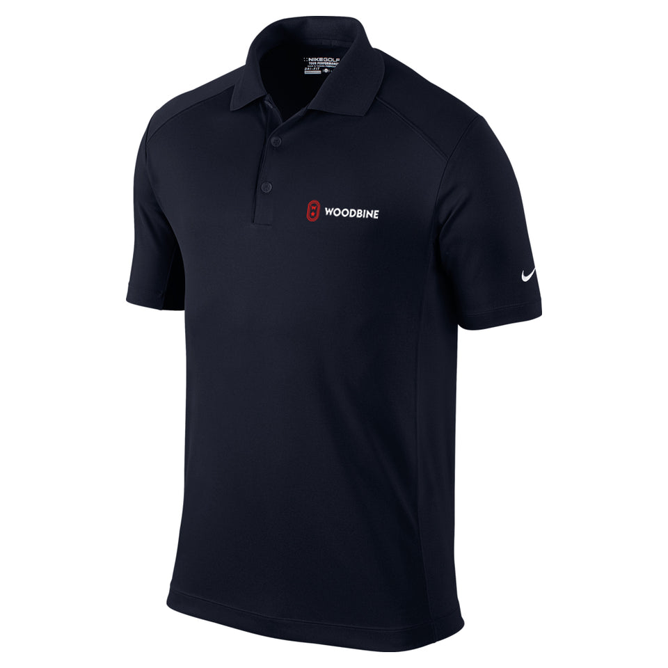 Woodbine Golf Shirt, Black - Men's