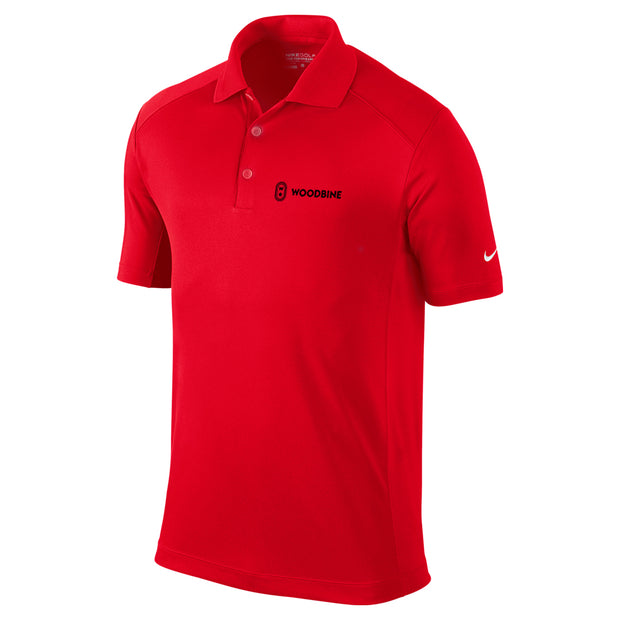 Woodbine Golf Shirt, Red - Men's