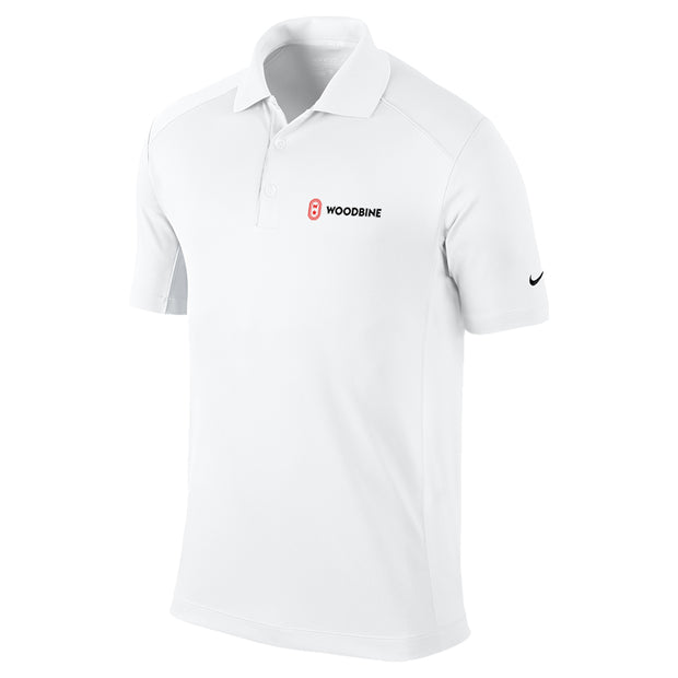 Woodbine Golf Shirt, White - Men's