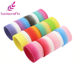 Gradient organza ribbon