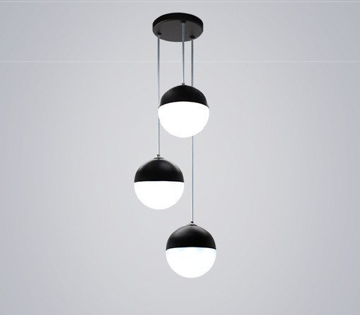 Small round pendant light