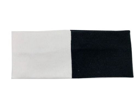 Ribbed colorblock headband