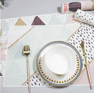 Geometric placemat