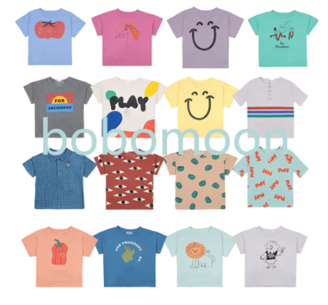 Assorted short sleeve tees