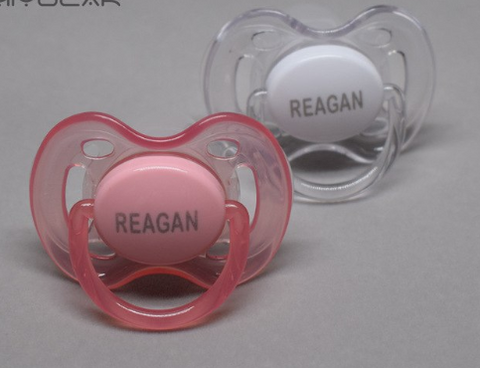 Personalized pacifier 2 pc