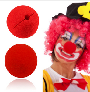 Clown nose 10 pc