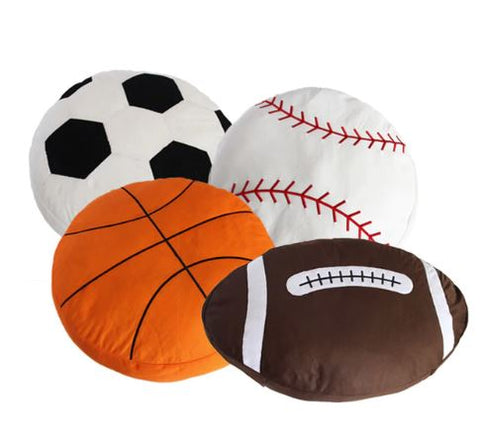 Sports ball pillow