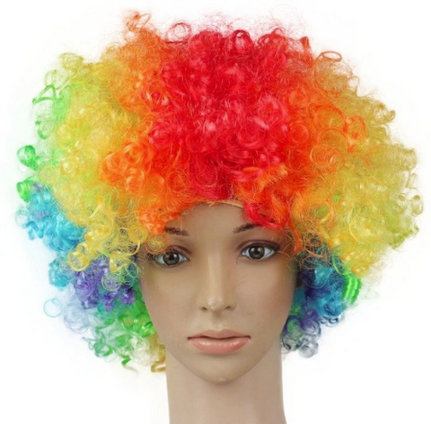 Clown hair