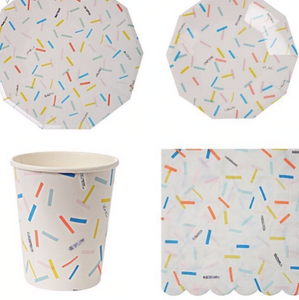 Sprinkles tableware