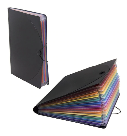 Accordion file folder