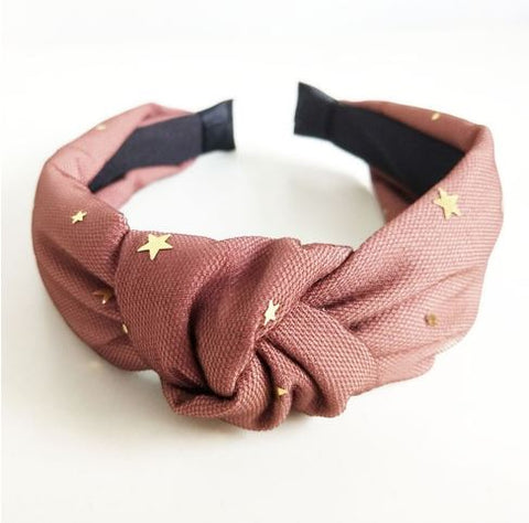Star knot headband