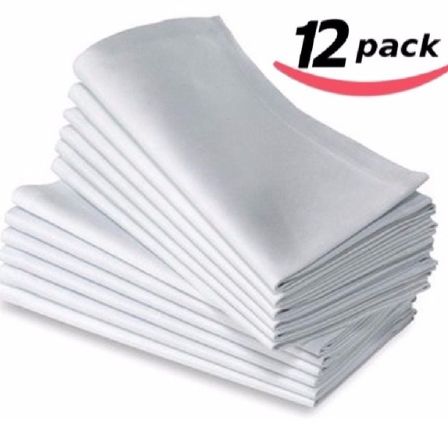 12 pc cloth napkins