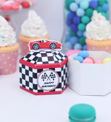 Race car box 5 pc