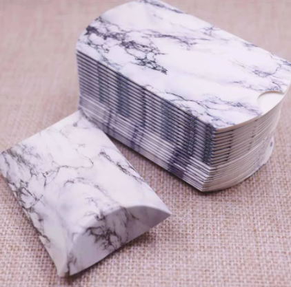 Marble pillow box 50 pc