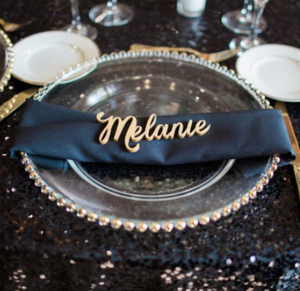 Custom name placecard
