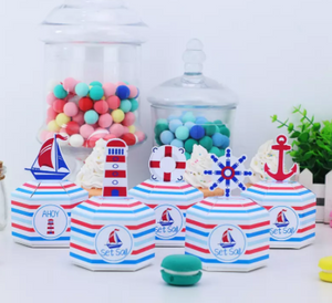 Nautical boxes 5 pc