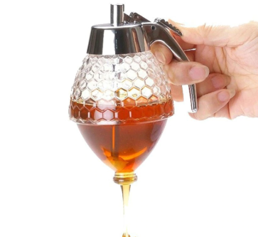 Honey jar dispenser