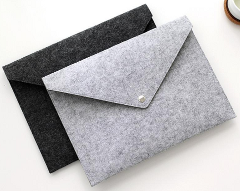Felt document envelope