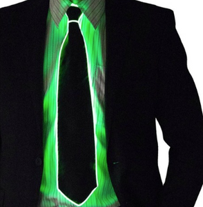Light up tie