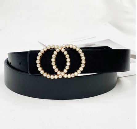 Pearl circle belt