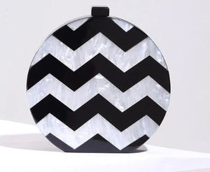 Round chevron clutch