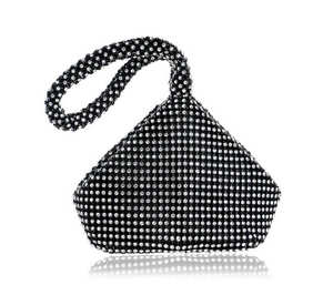 Rhinestone evening bag