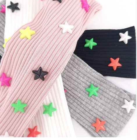 Ribbed star headband
