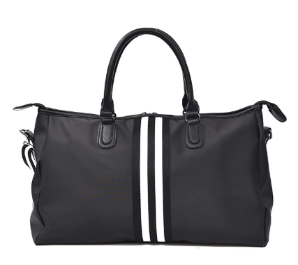 Stripe shoulder bag