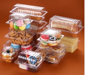 Transparent boxes 50 pc
