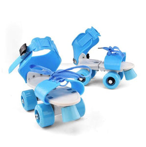 Adjustable roller skates