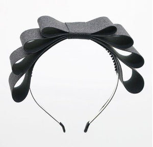 Triple bow headband