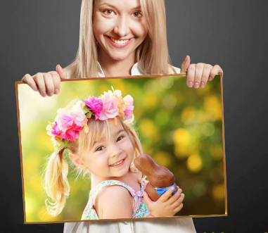 Custom photo diamond painting