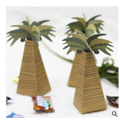 Palm tree box 50 pc