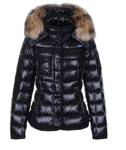 Puffer jacket with pocket