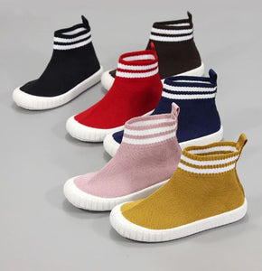 High top sock sneakers