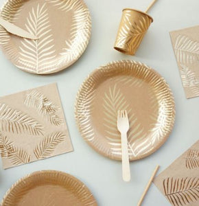 Leaves tableware 57 pc.