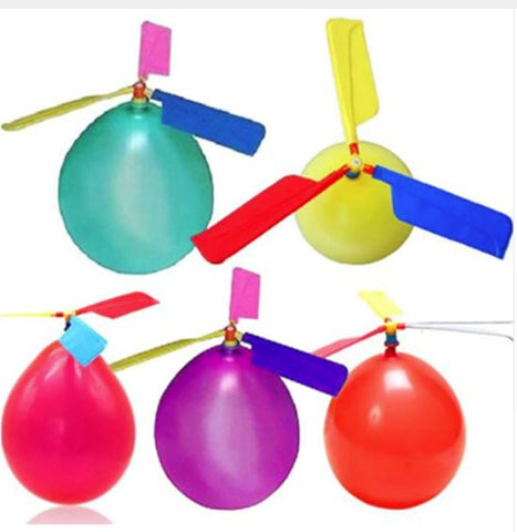 Helicopter balloons 10 pcs