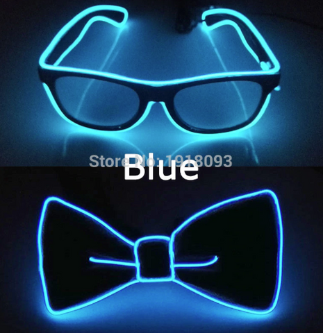LED glasses and bowtie set