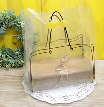 Transparent printed bag 100 pc