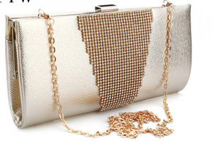 Elegant shoulder clutch