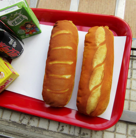 Bread pencil case