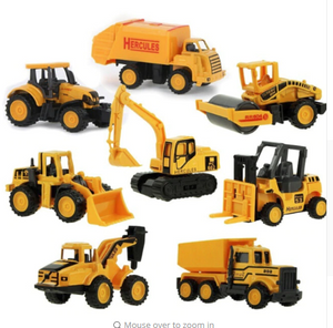 8 pc construction set