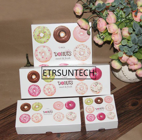 Donut box 100 pc